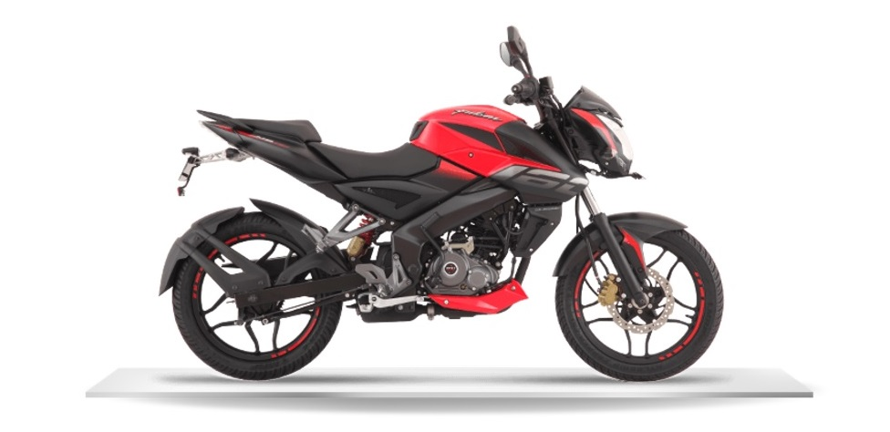 Bajaj Pulsar NS160 red side