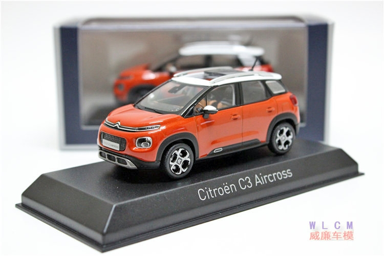 Citroen C3 Aircross front three quarters scale model