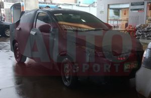 Fiat X6S camouflaged test prototype front Brazil spied