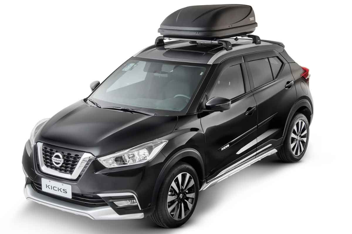 India Bound Nissan Kicks Gets New Accessories In Brazil