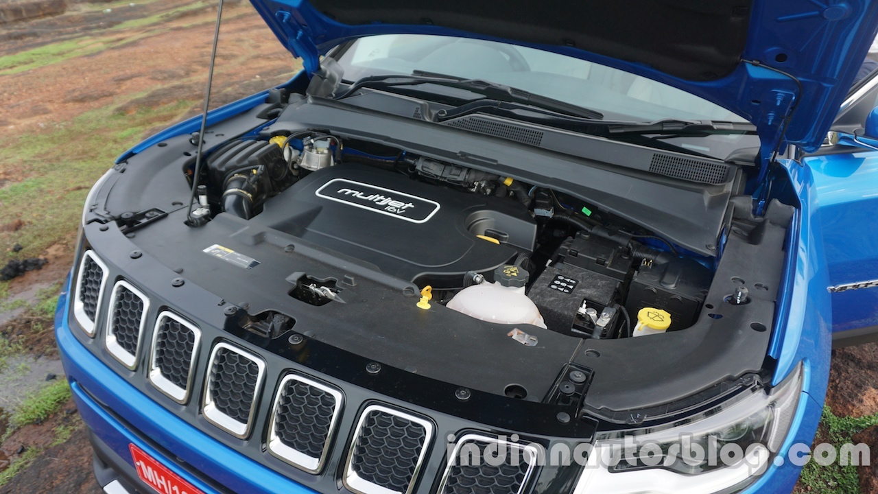 Jeep Compass 2.0 diesel engine bay review