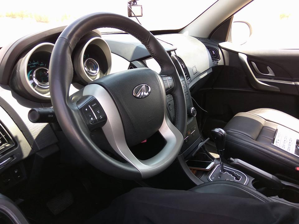 Mahindra XUV500 LHD interior Dubai