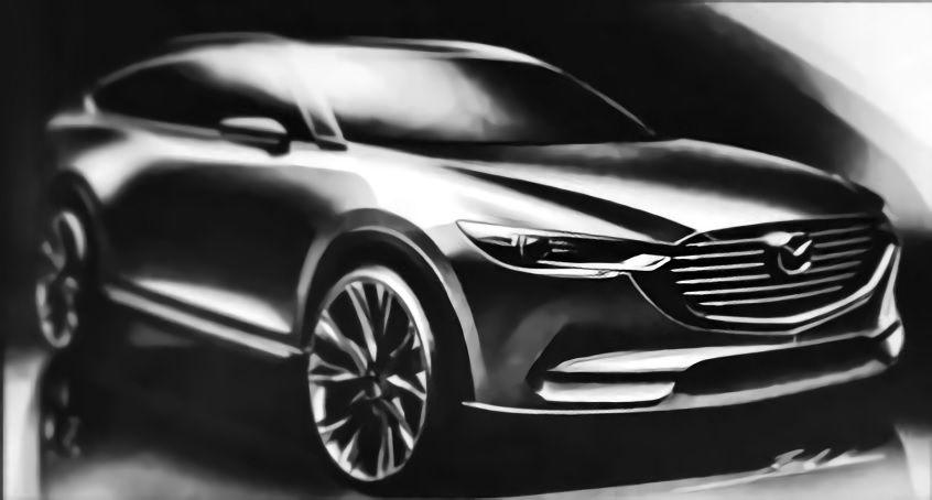 Mazda CX-8 sketch