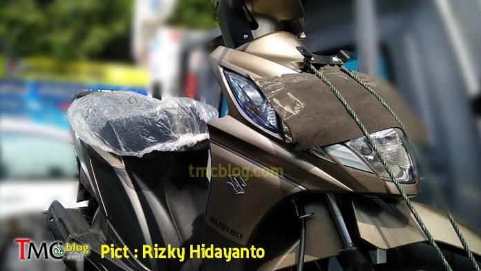 Suzuki Nex spy shot front