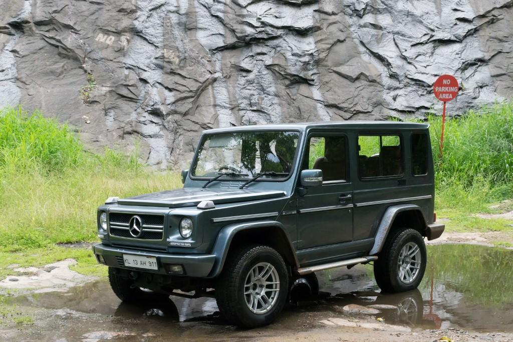 Land Rover Vs Jeep >> Transform a Force Gurkha into a Mercedes G-Class front three quarter