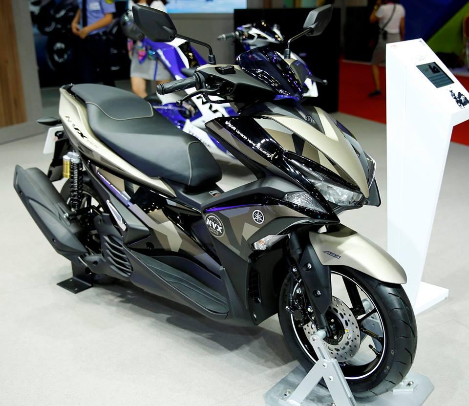 Yamaha NVX 155 Camo Vietnam launch front three quarter