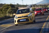 2017 Kia Picanto Yellow body colour South Africa