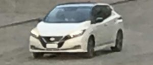 2017 Nissan Leaf front exposed