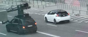 2017 Nissan Leaf rear exposed