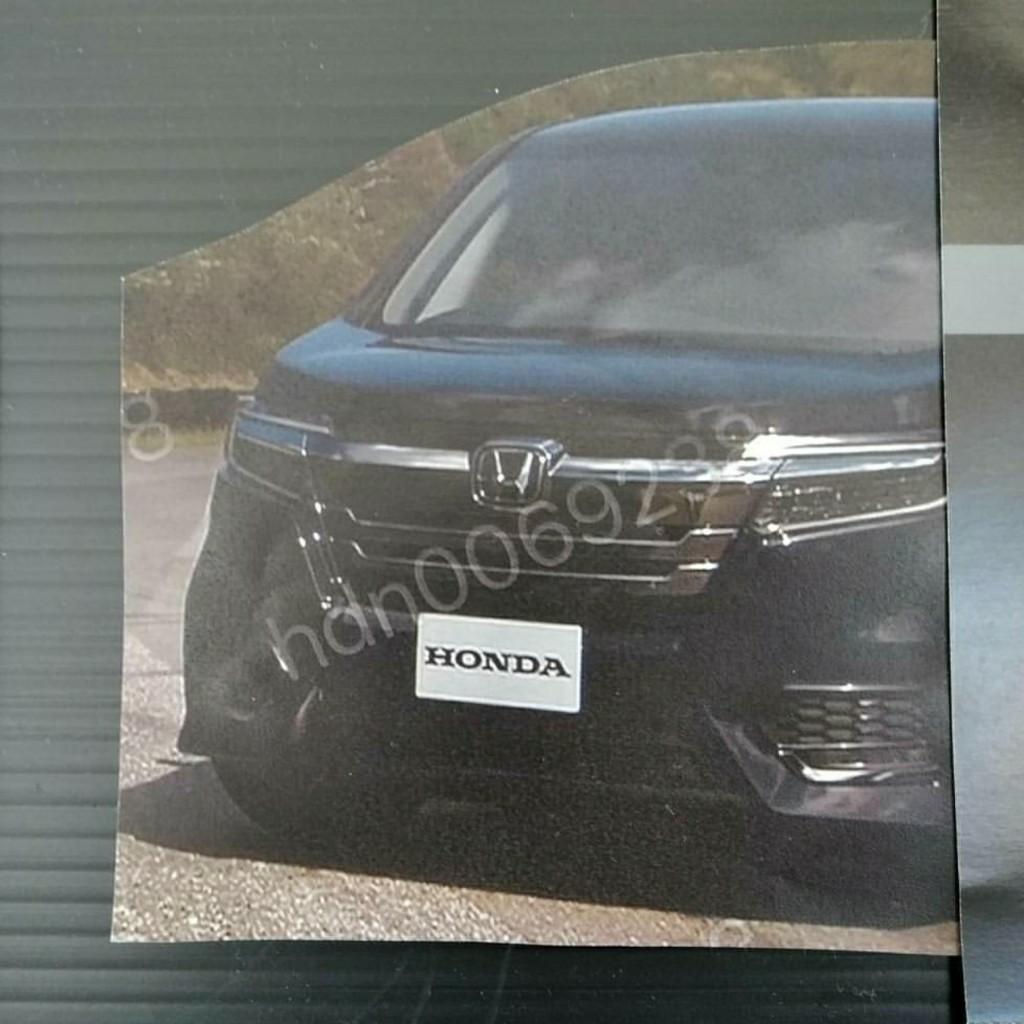 2018 Honda StepWGN (facelift) front fascia unofficial image