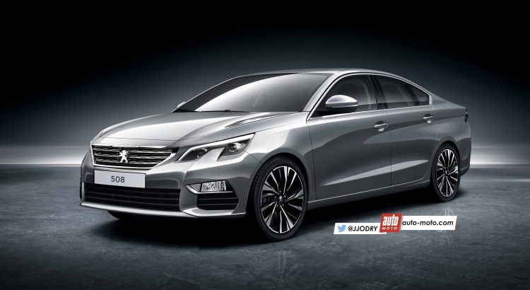 2018 Peugeot 508 front three quarters rendering