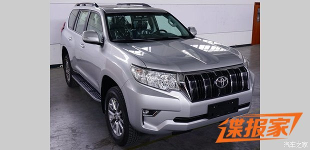 2017 Toyota Land Cruiser Prado (facelift) exterior spy shot