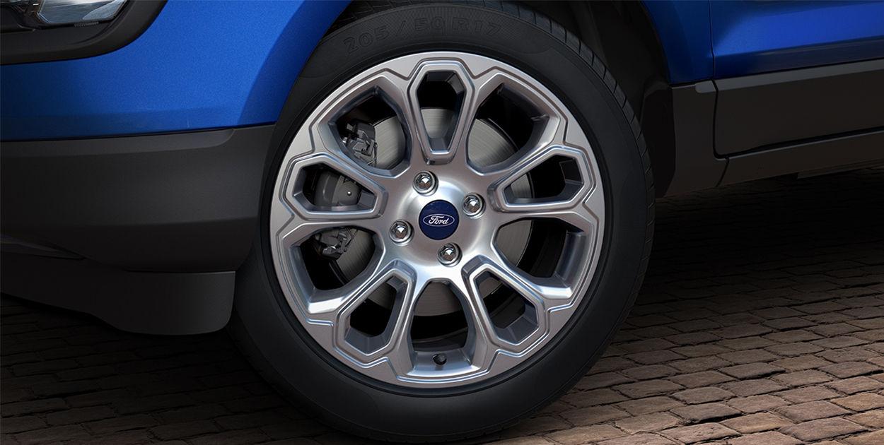 Brazilian-spec 2018 Ford EcoSport (facelift) alloy wheel