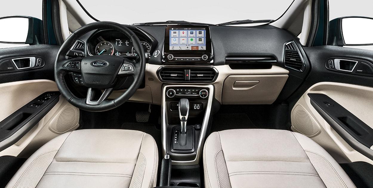 Brazilian Spec 2018 Ford Ecosport Facelift Dashboard