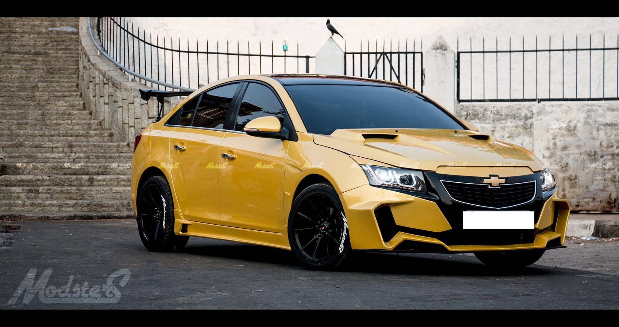 Chevrolet Cruze Project Yellow Transformer In Images