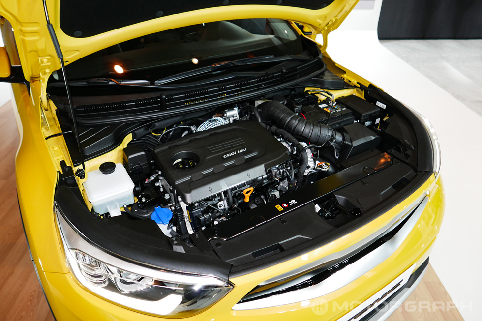 Kia Stonic engine