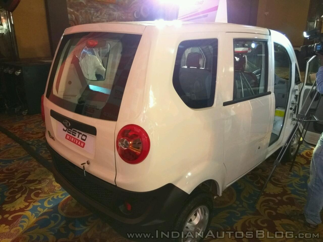 Jeeto Mini Van Price >> Mahindra Jeeto EV version planned for launch - Report
