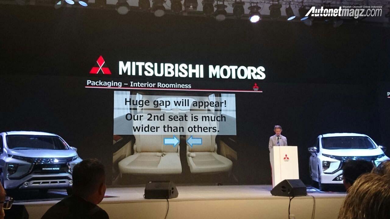 Mitsubishi Expander MPV Unveiled Cabin Space