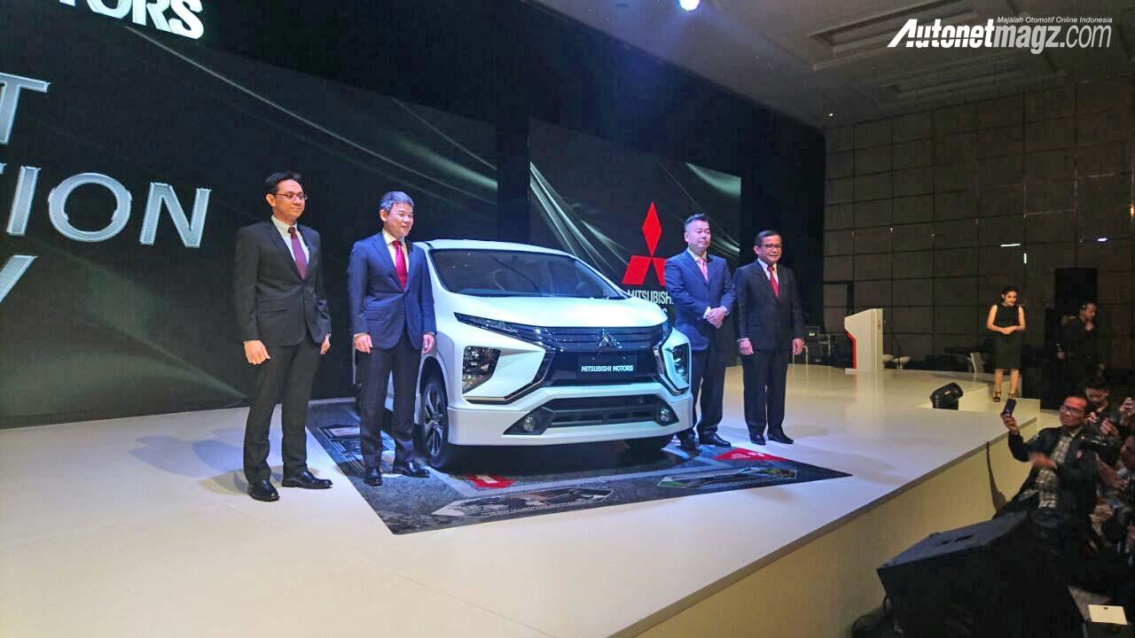 Mitsubishi Expander MPV Unveiled Front Angle