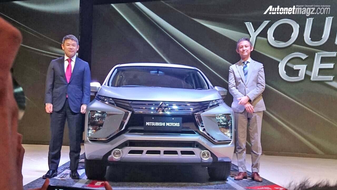 Mitsubishi Expander MPV Unveiled Front