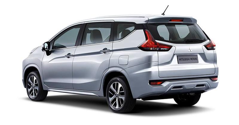 Mitsubishi Xpander rear three quarters official image