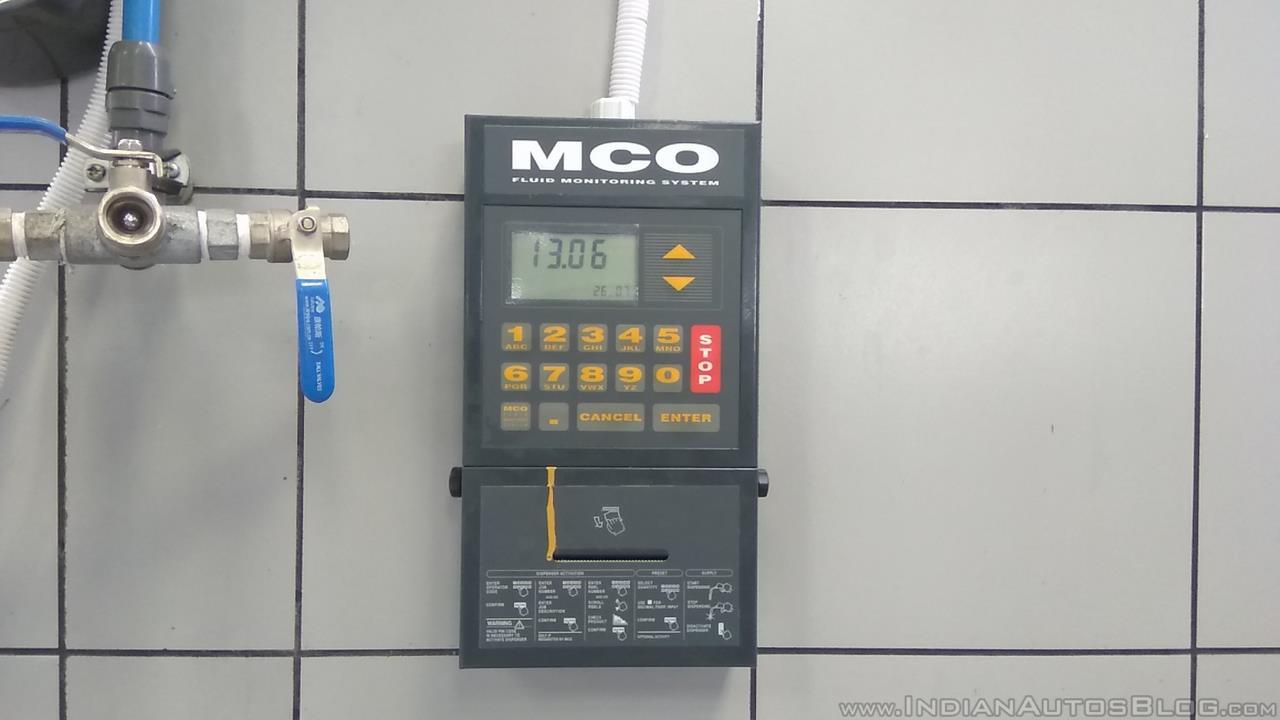 NEXA Service fluid monitoring system