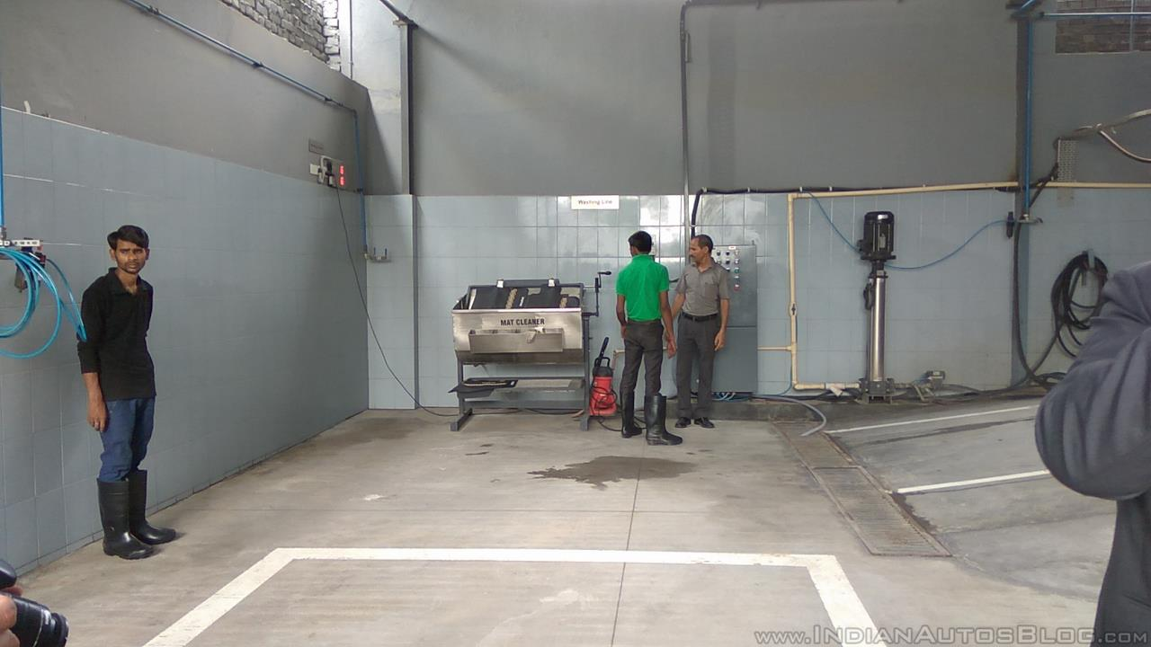 NEXA Service washing line