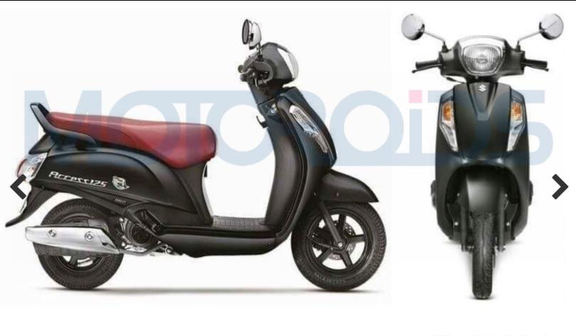 Suzuki Access 125 Special Edition black