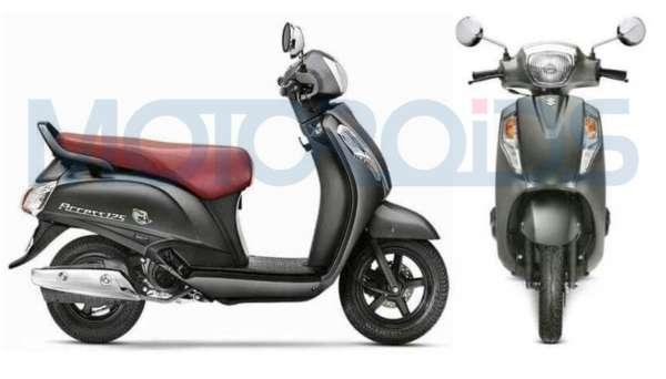 Suzuki Access 125 Special Edition grey