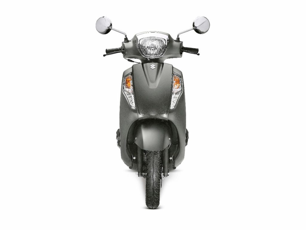 Suzuki Access 125 matte grey front