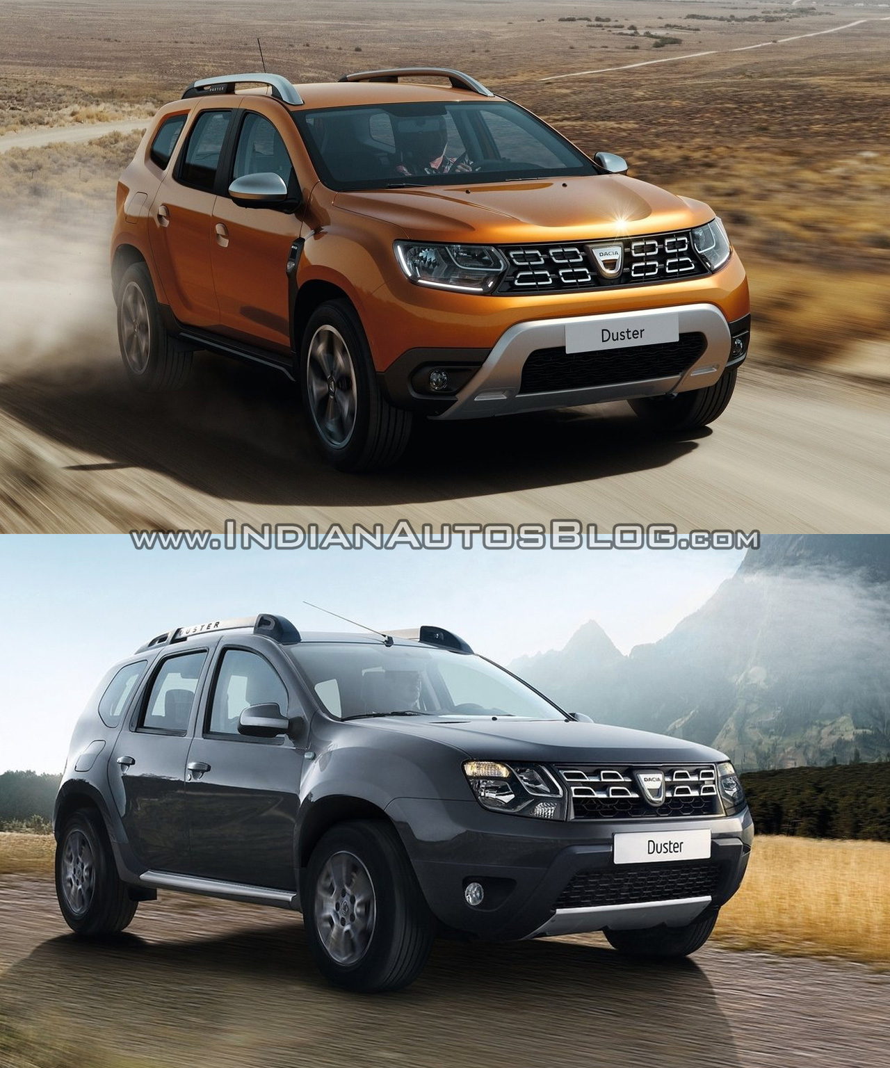 2018 dacia duster vs 2014 dacia duster old vs new. Black Bedroom Furniture Sets. Home Design Ideas