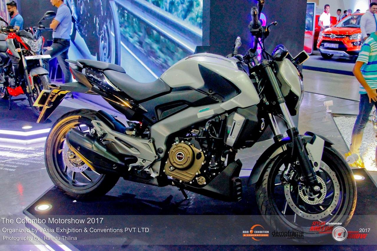 Bajaj Dominar 400 showcased at Colombo Motor Show 2017