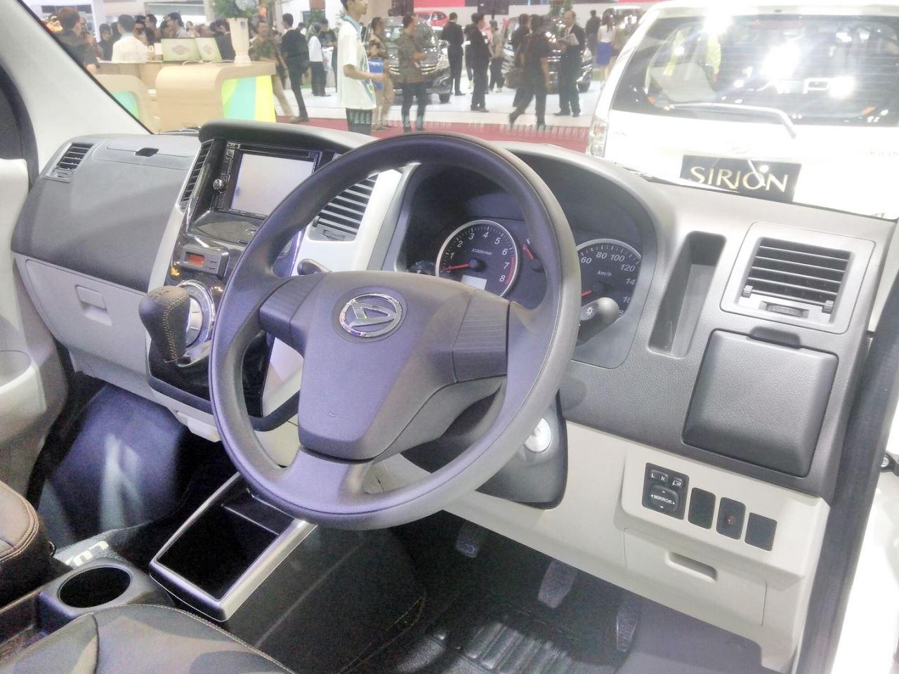 Harga Jual Daihatsu Luxio Models By Year Rent Car Wiring Diagram Special Edition At Giias 2017 Dashboard