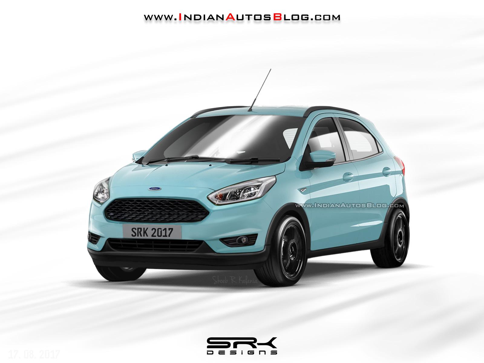 Ford Figo Cross (Ford Figo Active) rendering by IAB