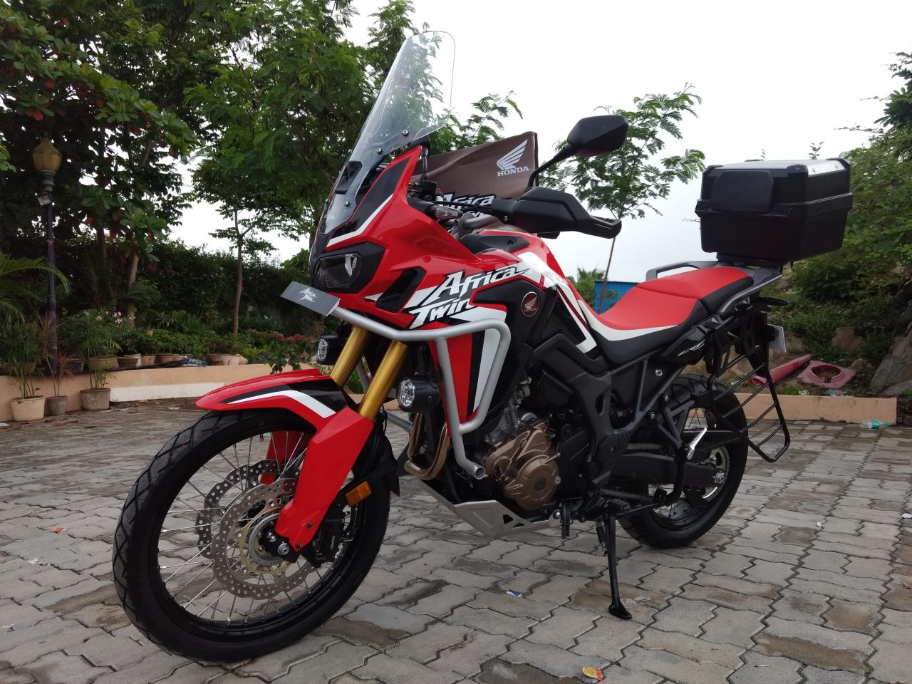 Honda Africa Twin India review with accessories