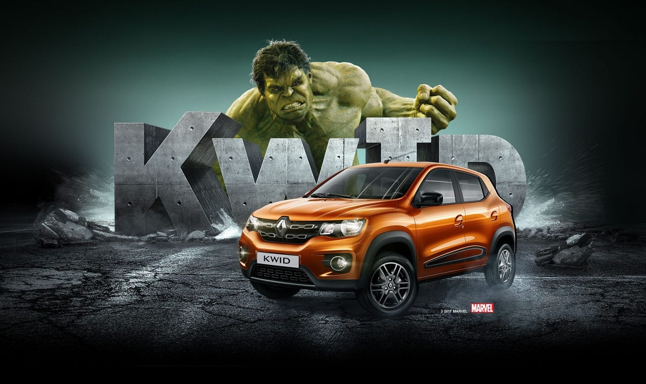 Renault Brazil ties up Incredible Hulk for Kwid promotions