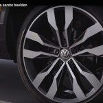VW T-ROC alloy wheel production vehicle teaser