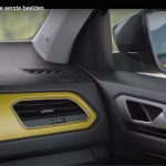 VW T-ROC dashboard production vehicle teaser