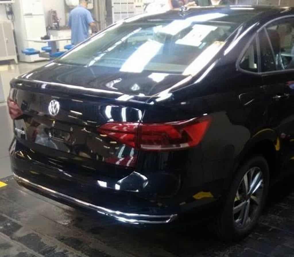 VW Virtus spy shot Brazil