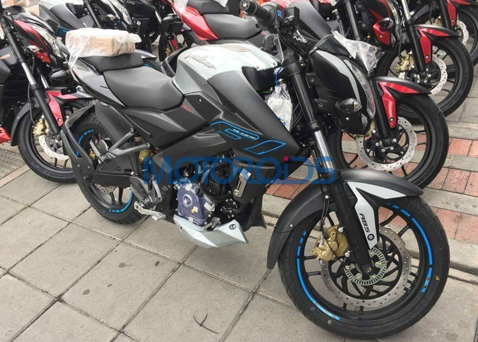 2017 Bajaj Pulsar NS200 ABS Fi front right quarter wide