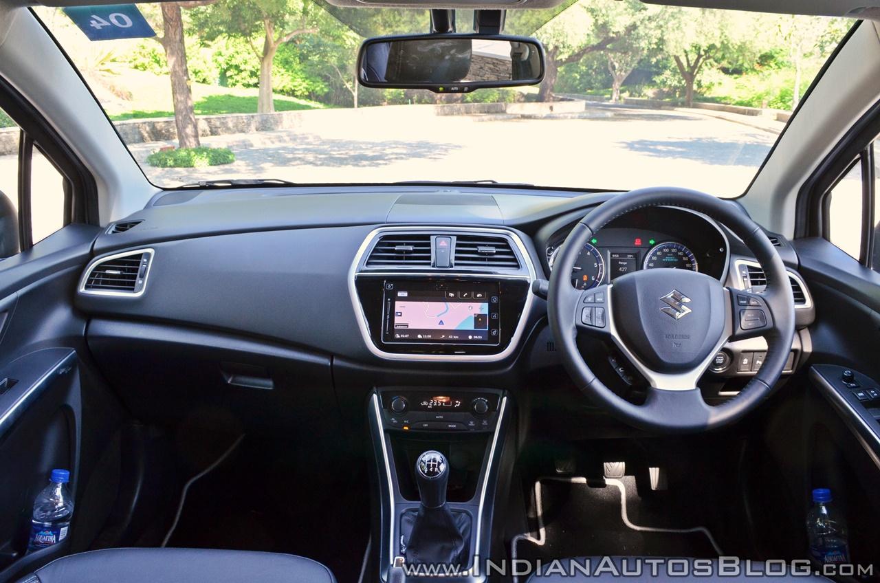 2017 Maruti S-Cross facelift dashboard