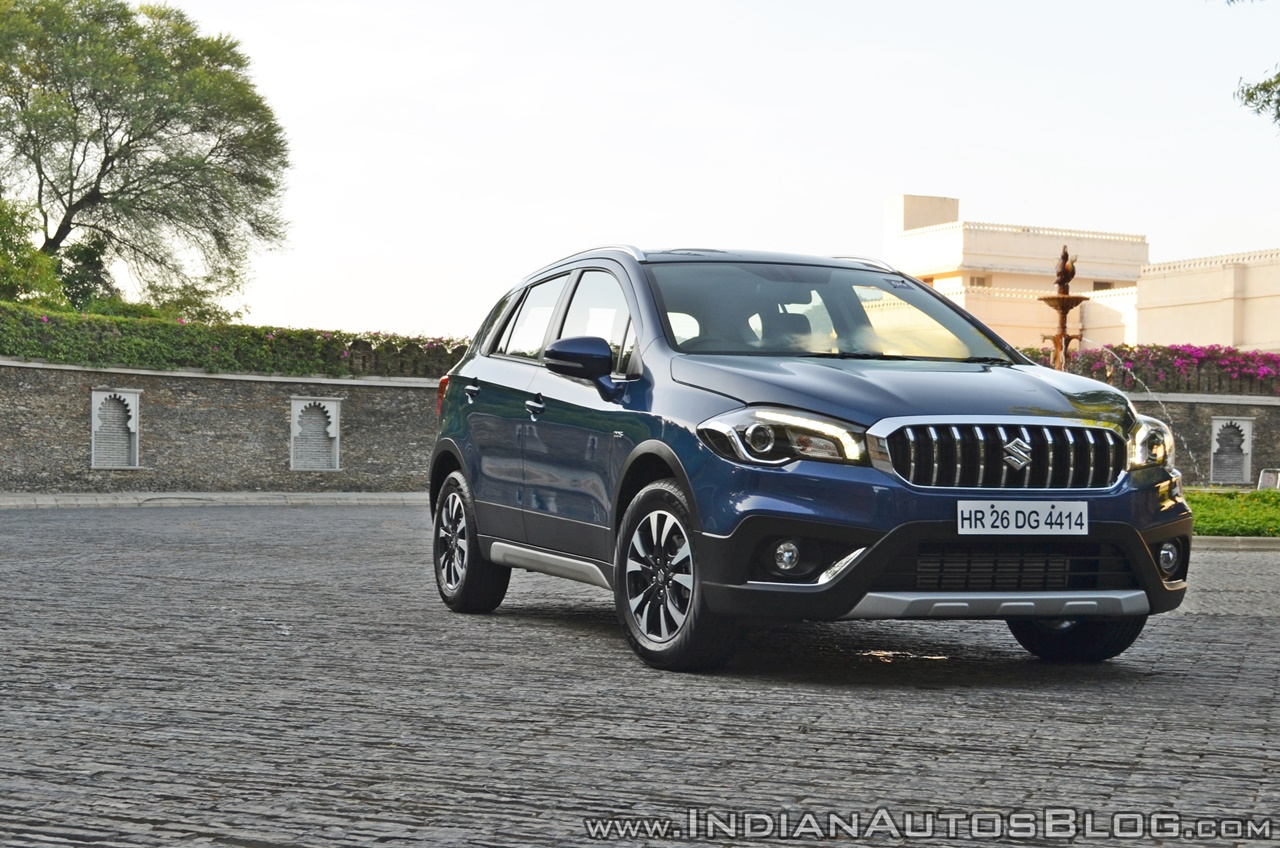 2017 Maruti S-Cross facelift front angle