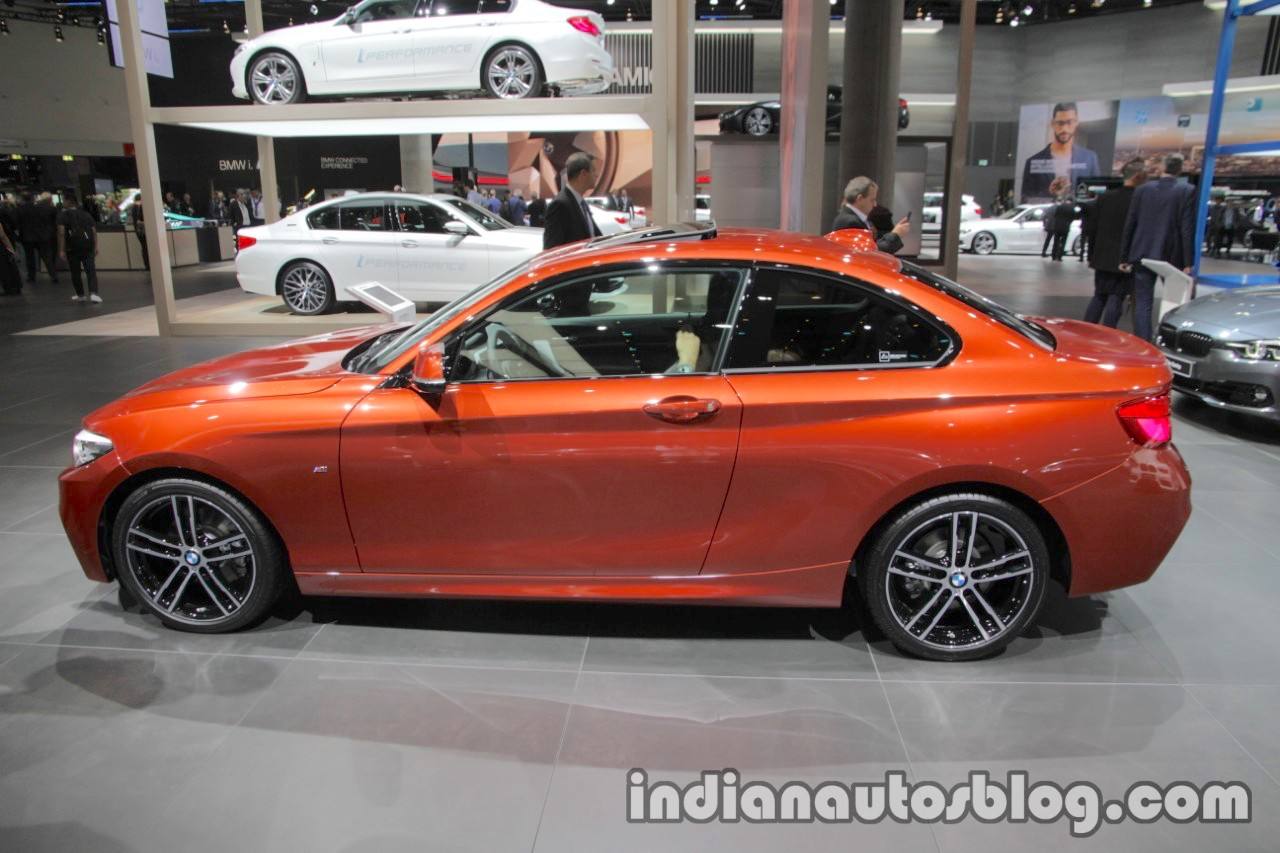 2018 bmw 2 series coupe lci side at the iaa 2017. Black Bedroom Furniture Sets. Home Design Ideas