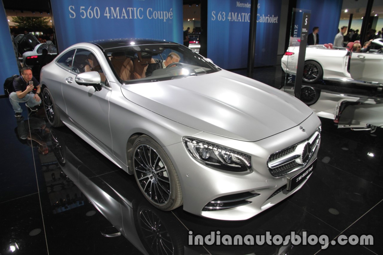 2018 mercedes s class coupe cabriolet showcased at iaa 2017. Black Bedroom Furniture Sets. Home Design Ideas