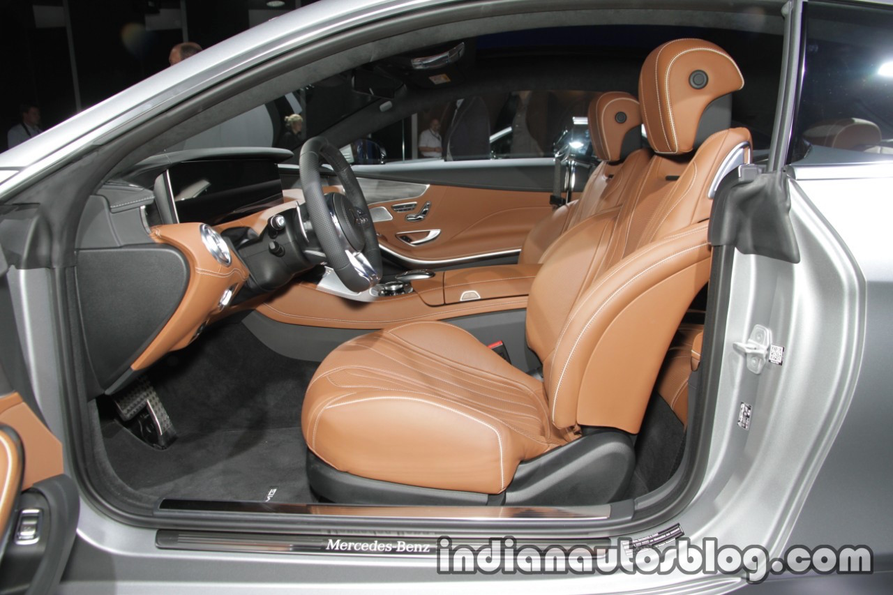 2018 Mercedes S-Class Coupe interior at IAA 2017