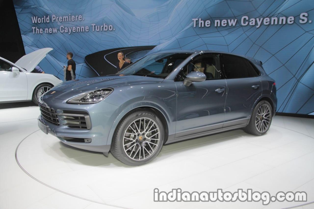 2018 Porsche Cayenne S at IAA 2017