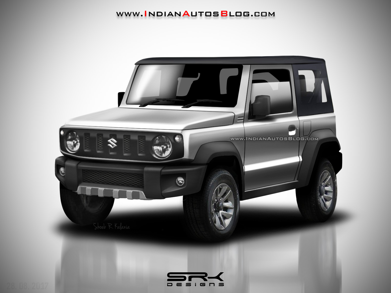2018 suzuki jimny soft top variant rendered. Black Bedroom Furniture Sets. Home Design Ideas