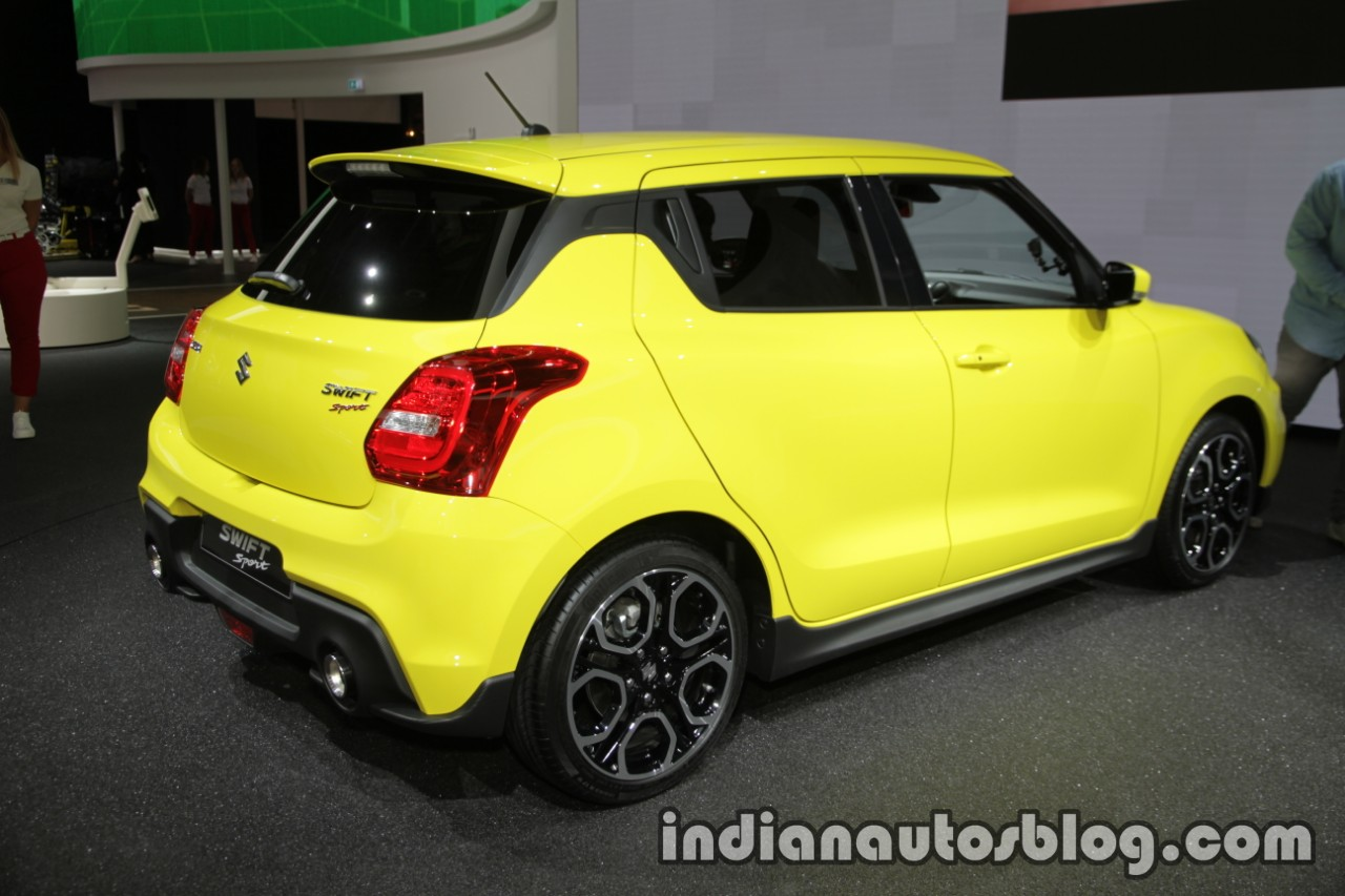 2018 suzuki swift sport at iaa 2017. Black Bedroom Furniture Sets. Home Design Ideas