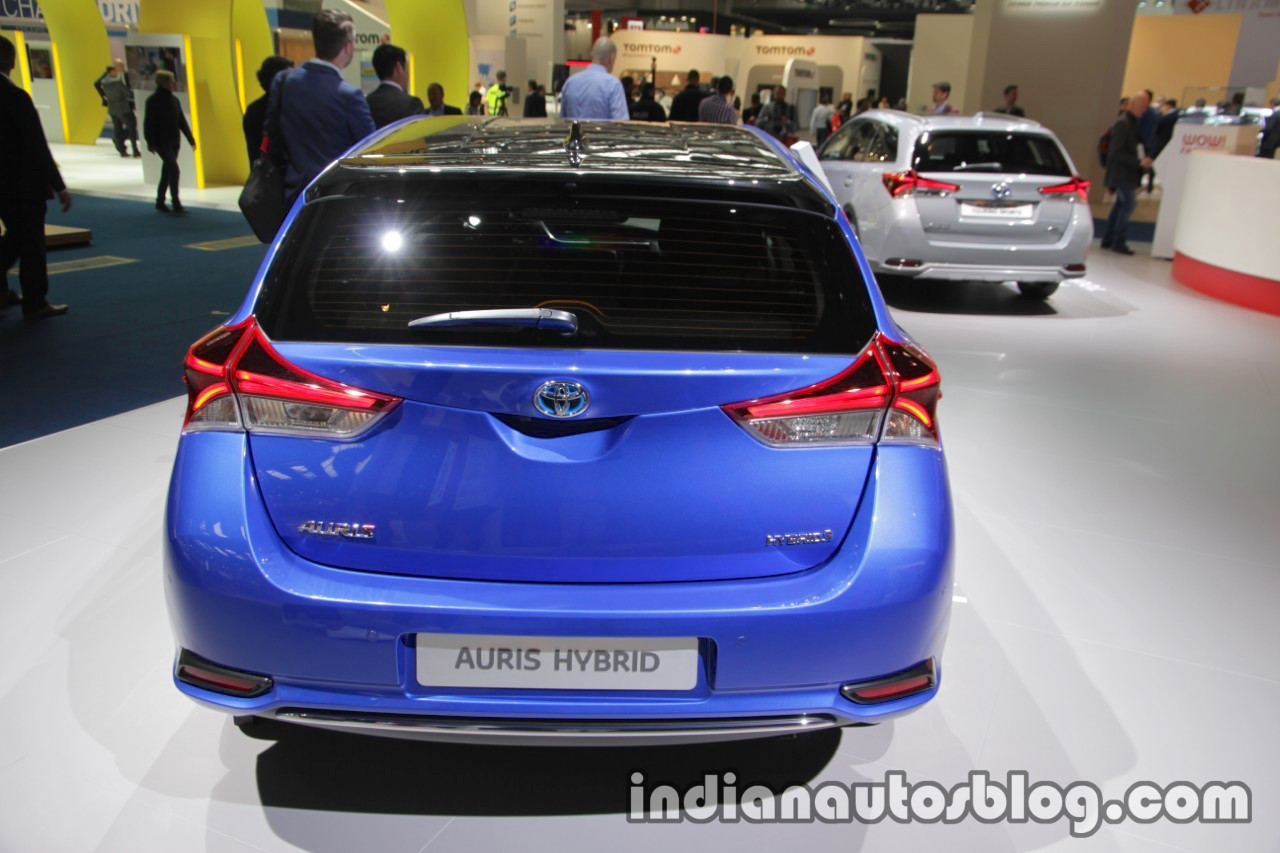 2018 toyota auris hybrid rear at iaa 2017. Black Bedroom Furniture Sets. Home Design Ideas