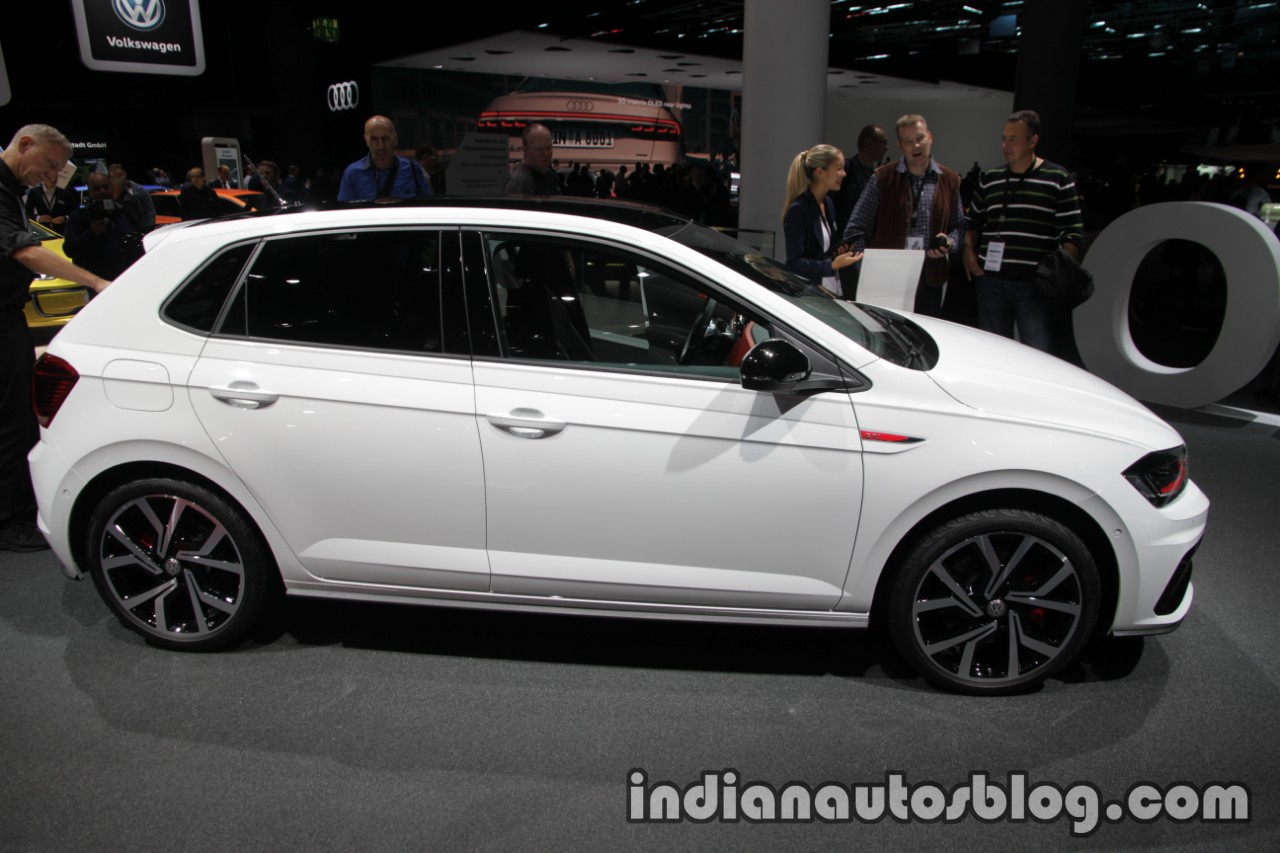 2018 vw polo gti profile at the iaa 2017. Black Bedroom Furniture Sets. Home Design Ideas